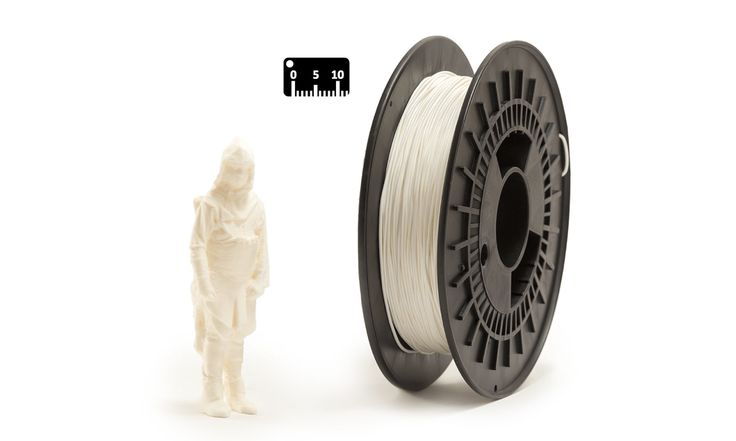 TPU FLEX by EUMAKERS by the meter (by the yard)   Color: white   Available in 1.75 mm diameter on spools of 500 g net of material, FLEX EUMAKERS is a high quality and easy-to-use filament, which is ideal for prototypes that require flexibility   Choose from the assortment of four colours (white, black, natural and silver) and colour your world with EUMAKERS   www.monzamakers.com/shop   #3dprinting #stampa3d #3dprint #tpu #flex#3dfilaments #3dfilament