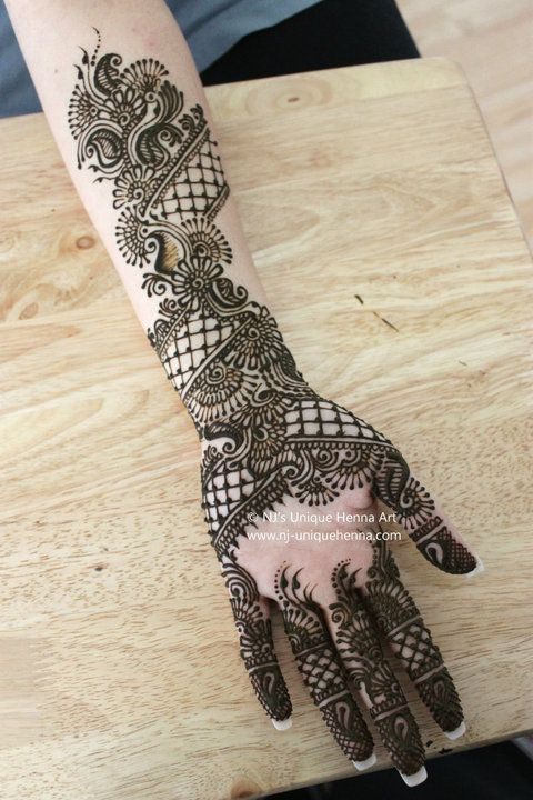 Henna Mehndi New Jersey : Here is a collection of few henna art from nj unique