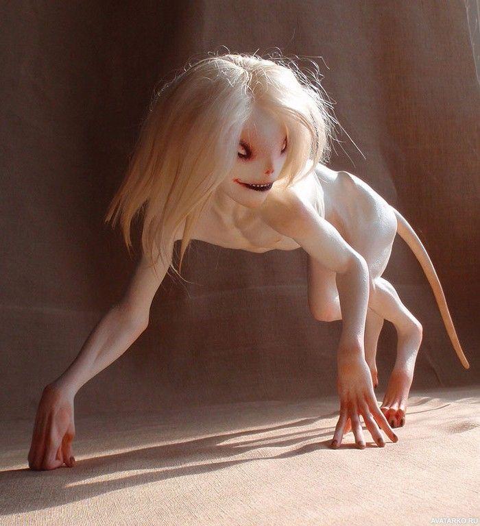 девушки с белыми волосами картинки на аву