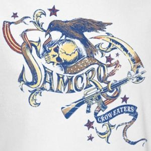 sons of anarchy crow eater logos   Sons Of Anarchy Crow Eaters Shirts