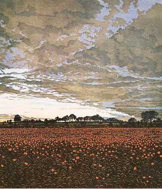 Phil Greenwood, Sky Anvil, Etching and Aquatint