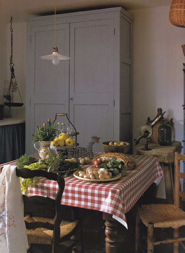 French Farmhouse Style - cooking & eating