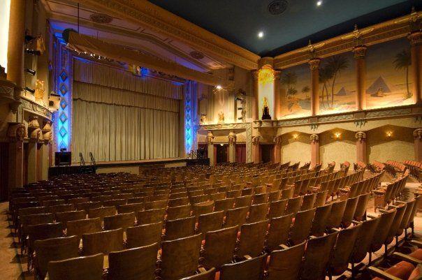 Egyptian Theatre. DeKalb, Il. | Egyptian theater, Theater ...