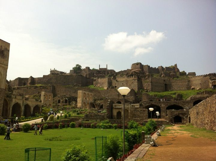 Golconda Fort in Hyderabad, Andhra Pradesh