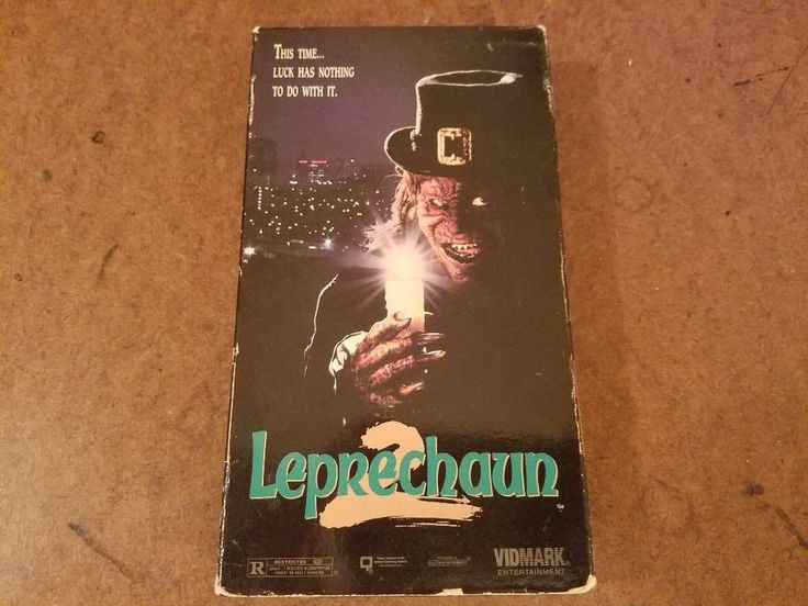 Leprechaun 2 VHS Used