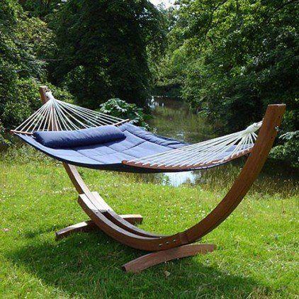 #Garden #Hammock from #Posh #Garden #Furniture  admired.. wickerparadise.com.