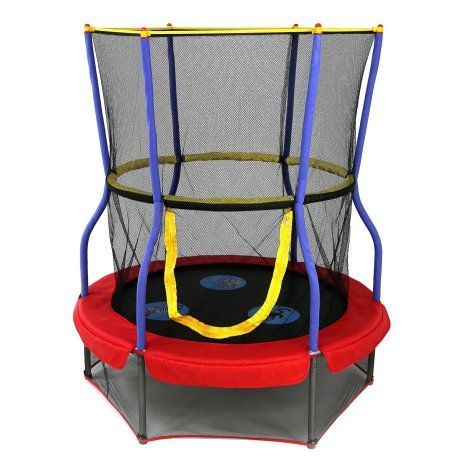 Skywalker Round Trampoline with Enclosure (Proprioception) | The Sensory Spectrum