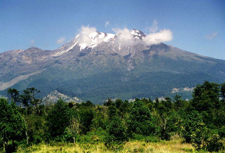 Volcán Calbuco, Región de Los Lagos.
