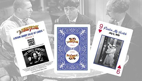 Custom Smart Deck of Cards The Three Stooges…