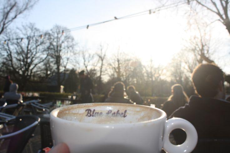 coffe in vondelpark, amsterdam