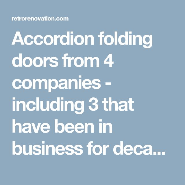 Best 25+ Accordion folding doors ideas on Pinterest Accordion - plana k amp uuml chen preise
