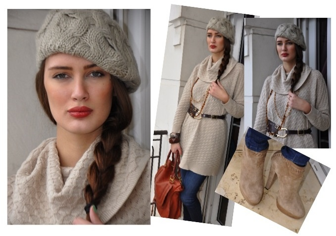 Chic for a Week: Amina Allam Glowing in Earthy Colors   #CityChic #StreetChic #ChicForAWeek