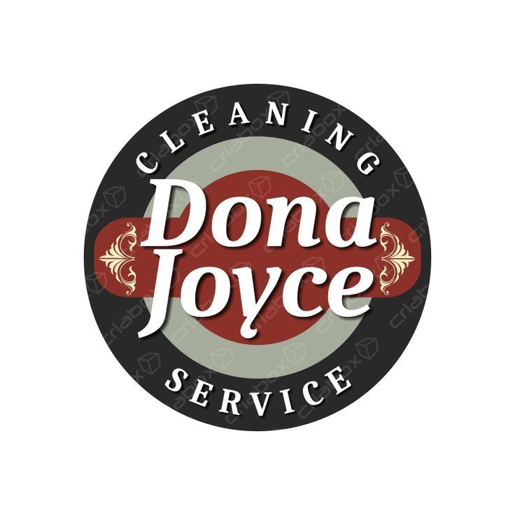 Criação e desenvolvimento do logotipo 'Dona Joyce Service LLC' www.donajoycescleaning.com #cleaning #service #Bridgeport #CT #USA #house #offices #condo #restaurant #Milford #NewCannaan #WestHaven #Farfield #Norwalk #Westport #NewHaven #Woodbridge #Connecticut #criabox #logotipo #logo