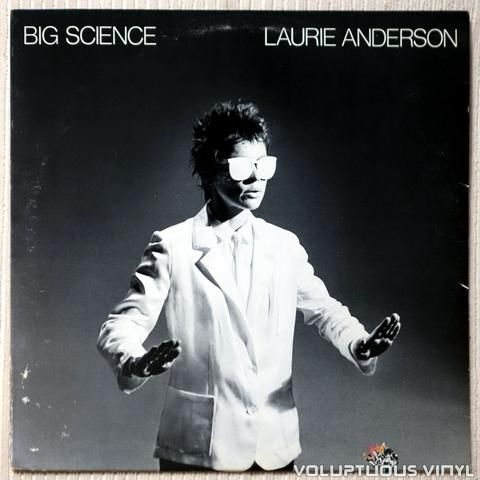 Image result for portada del album Big Science, de Laurie Anderson