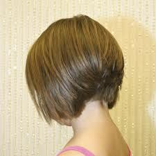 long stacked bob haircut pictures | Back View of Inverted Bob Hairstyles