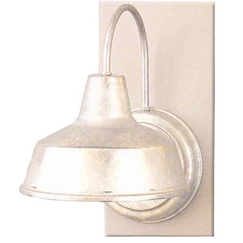 Galvanized Outdoor Wall Sconce