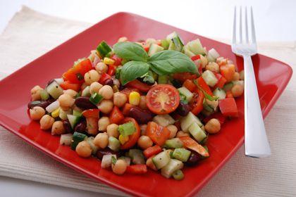 QuickBean Salad, Easy Bean Salad, Bean Salad recipe