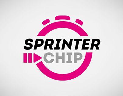 Diseño de marca e imagen corporativa para Sprinter Chip, empresa de cronometraje y organización de eventos deportivos