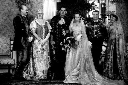 countess Ilona Edelsheim-Gyulai de Marosnémethi et Nádaska + István Horthy de Nagybánya