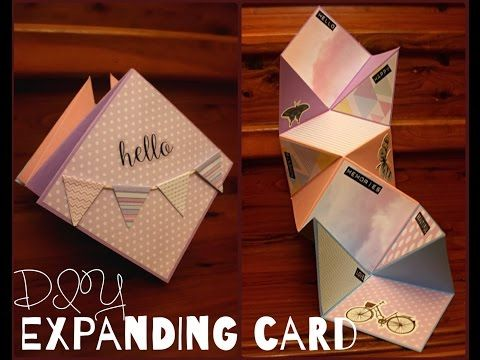 What is better than a handmade card? An EXPLODING Handmade Card!