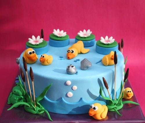 Bunt Pond Cake