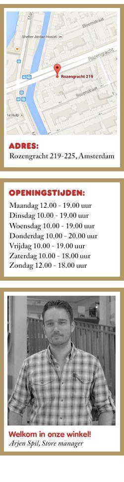 Fjällräven Store in Amsterdam voor kampeerbenodigdheden