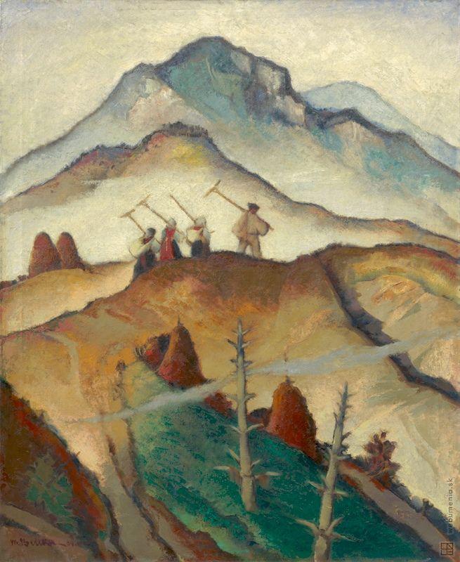 Martin Benka: Na pole:1934