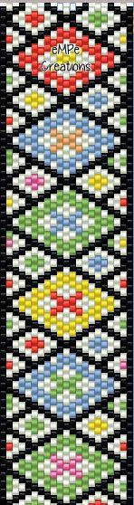 #peyote  #bracelet #pattern
