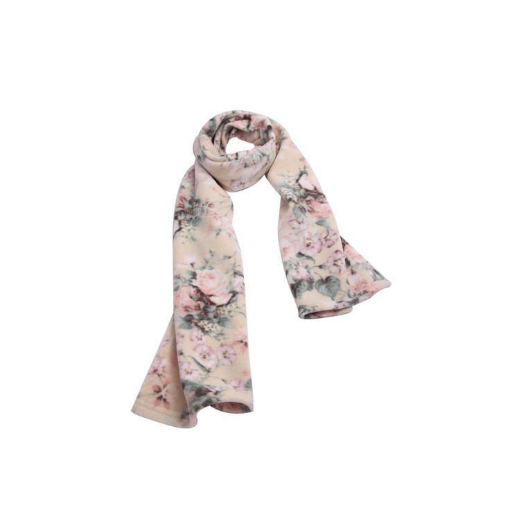 Cachecol Floral Off White Soft - SMM Cachecol #Cachecol #Cachecóis #scarfs #scarf #fashion #modafeminina #moda