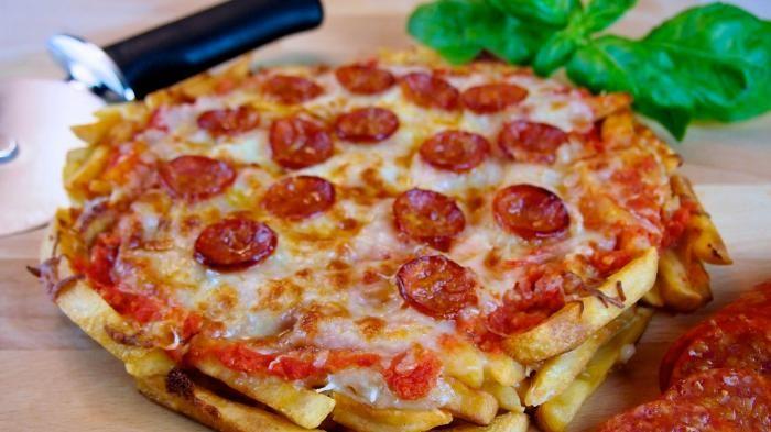 Pizza Fries - Jangan Ngiler! Buatnya Gampang dan Mudah, Tapi Rasanya Enggak…
