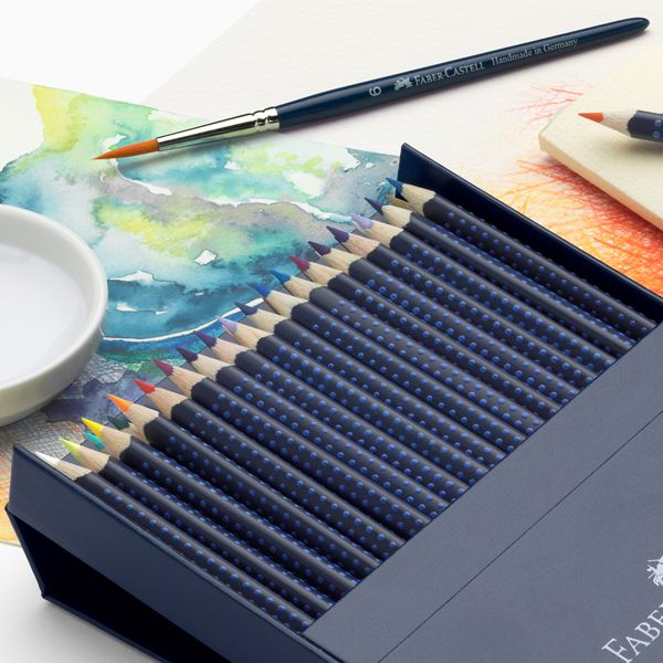 Watercolor Pencil Techniques for Coloring   Faber-Castell Giveaway! | Somerset Place The Official Blog of Stampington  Company
