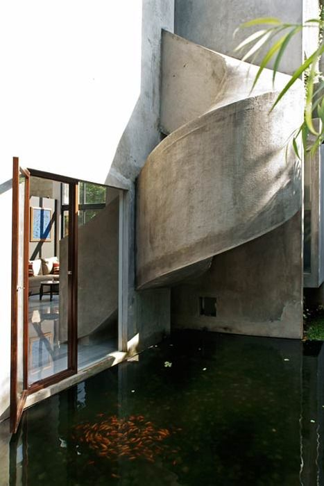 Aboday - Concrete slide for the client's child at the Playhouse in Jakarta