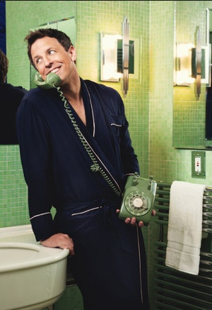 SNL's Seth Meyers from a Glamour magazine shoot #YahooScreen #YahooSNL #SNL