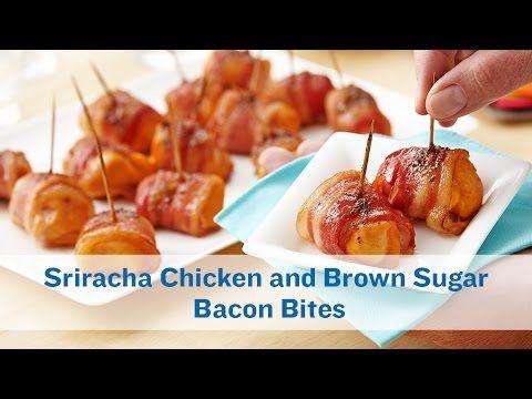 Bouchées de poulet au bacon... Un petit côté sucré et piquant que vous allez adorer! - Ma Fourchette