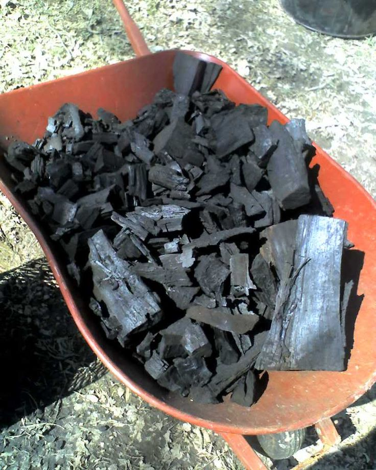 DIY homemade charcoal - for his new smoker & the bbq