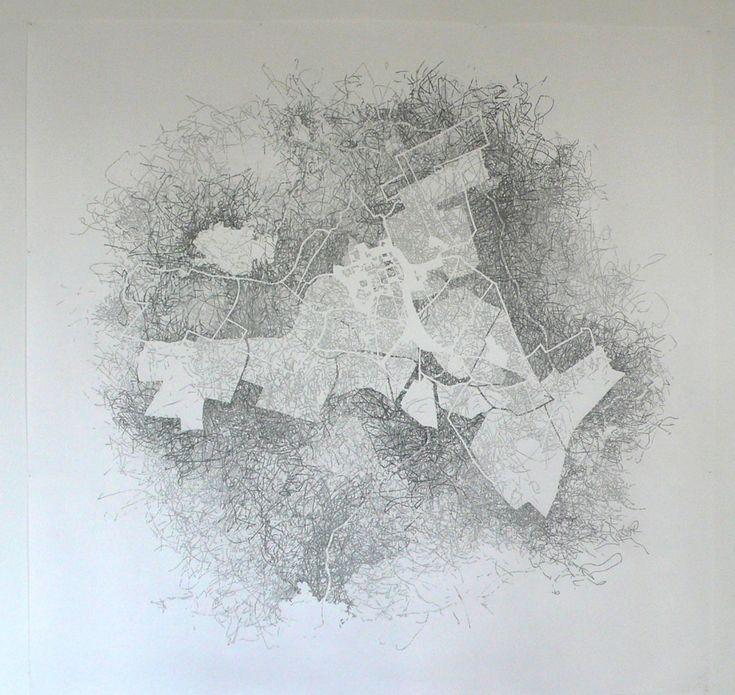 Chicago Map Grid%0A Hannah LeightonBoyce  Inscribing the Bounds