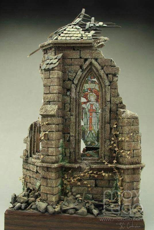 This makes me think of the churches of Flanders and Picardy that were ruined during the First World War.