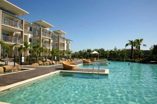 Take a dip in Peppers Salt Resort & Spa's lagoon pool at Kingscliff http://www.peppers.com.au/salt/