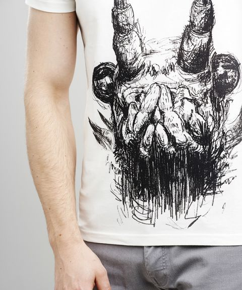 Insect face t-shirt