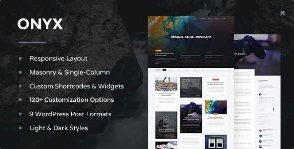 Onyx - Responsive WordPress Blog Theme (Personal) - http://creativewordpresstheme.com/onyx-responsive-wordpress-blog-theme-personal/