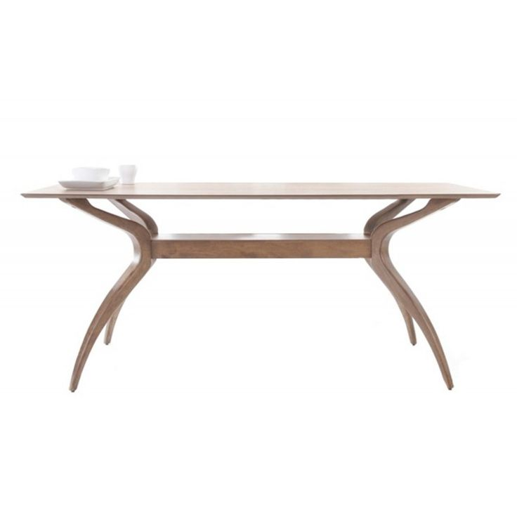Wooden table Aroma MDF top walnut 180x95x75