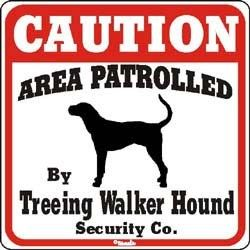 Treeing Walker Coonhound Sign