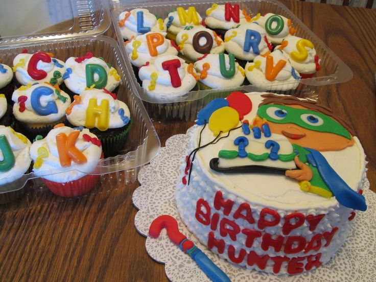 Super Why — Children's Birthday Cakes