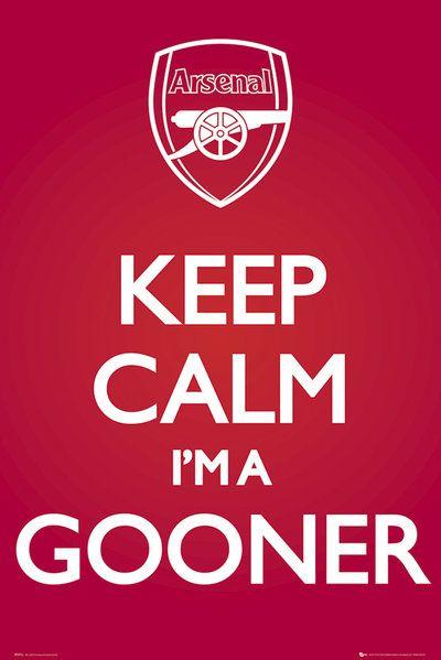 arsenal < I'm a Gooner, I'm always calm!