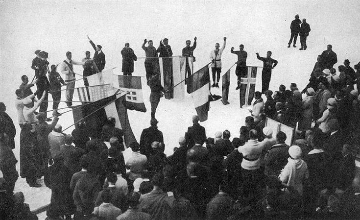 First Winter Olympics Opening Ceremonies France 1924