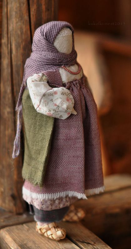 "Кукла-образ ""...скоро"" - куколка,кукла ручной работы,кукла текстильная"