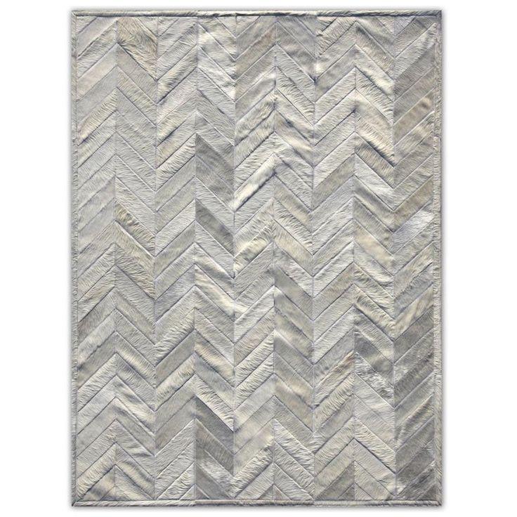 Серый ковер из шкуры ручной работы Orangerie Grey #carpet #carpets #rugs #rug #interior #designer #ковер #ковры #коврыизшкур #шкуры #дизайн #marqis