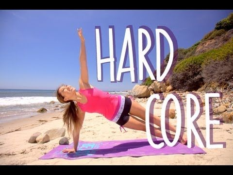 Hard Core Workout | POP Pilates Beach Series. Her exercises are designed for a younger audience, but is still just as hard. Very good for those needing slow descriptive instructions so that each move is done properly. 11.28