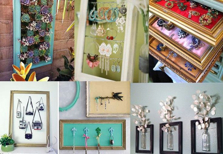 Amazing Ways To Reuse Old Picture Frames