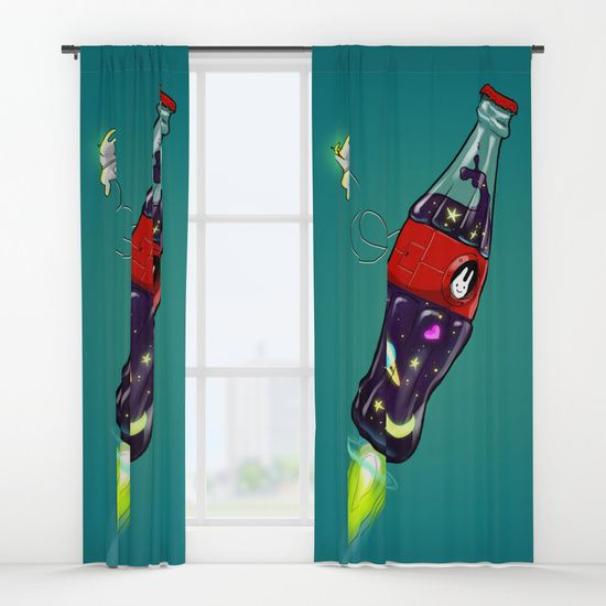 Bottleship 2 Window Curtains by Claudio Nozza Art   Society6